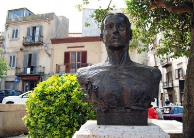 Corleone: Monumento a Placido Rizzotto