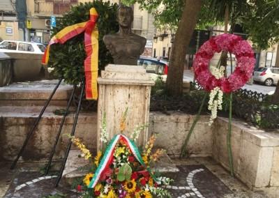 Corleone, monumento a Placido Rizzotto (foto di Mario Midulla)