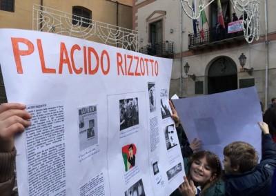 Corleone, commemorazione di Placido Rizzotto
